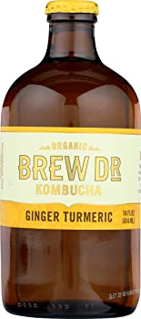 Brew Dr. Kombucha Ginger Turmeric
