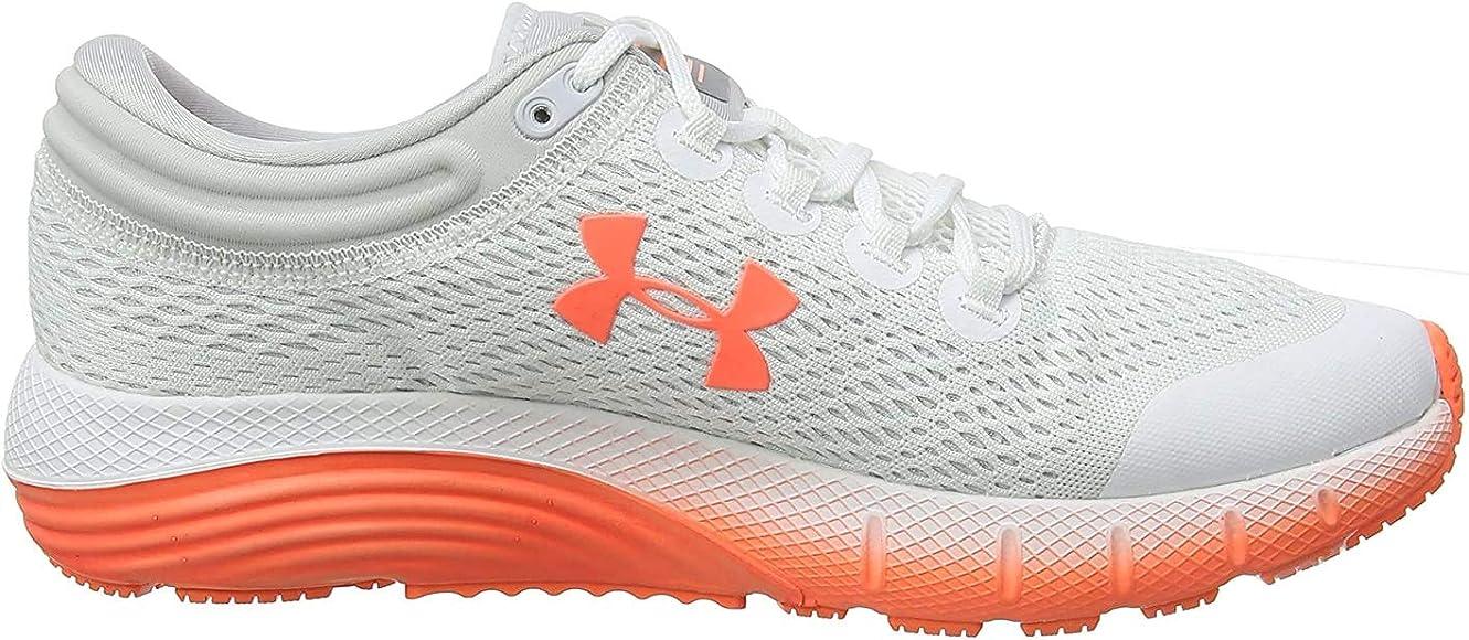 Under Armour UA W Charged Bandit 5, Zapatillas de Running para Mujer, Blanco White Halo Gray Peach Plasma 101 101, 35.5 EU: Amazon.es: Zapatos y complementos