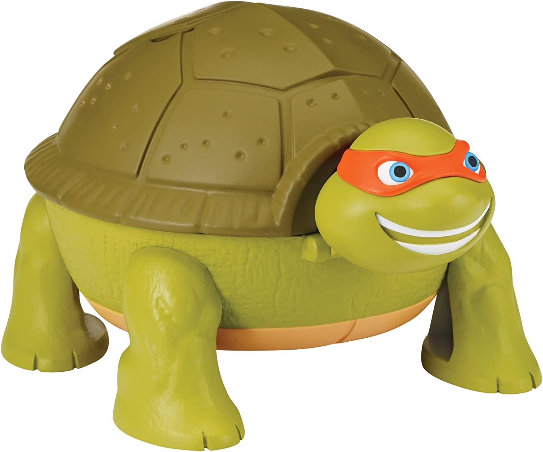 Teenage Mutant Ninja Turtles Micro Mutant Michelangelos Skate Park Pet to Turtle Playset