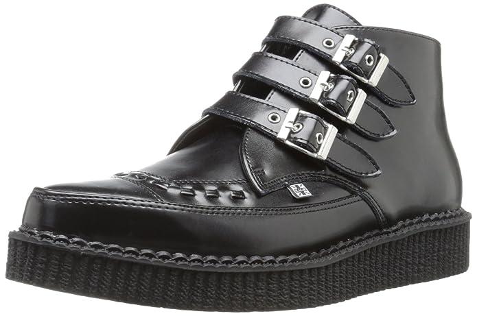 1950s Style Mens Shoes T.U.K. Unisex A8503 Creeper Boot $80.01 AT vintagedancer.com