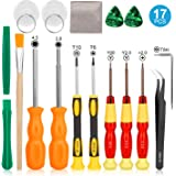 Keten Triwing Screwdriver for Nintendo, 17in1 Professional Full Security Screwdriver Game Bit Repair Tool Kit for Nintendo Switch/JoyCon, New 3DS and Nintendo Wii/NES/SNES/DS Lite/GBA/Gamecube