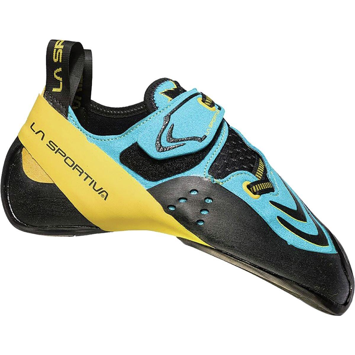 La Sportiva メンズ La Sportiva Futura Rock Climbing Shoe - Men's B071G76WZX 41 M EU|ブルー/イエロー ブルー/イエロー 41 M EU
