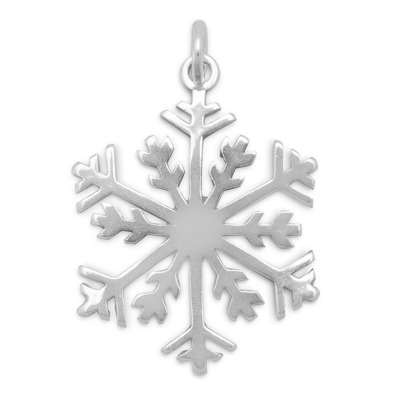 Bunnyberry Snowflake Pendant