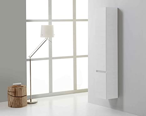 Colonna bagno sospesa manhattan bianco foresta amazon casa e
