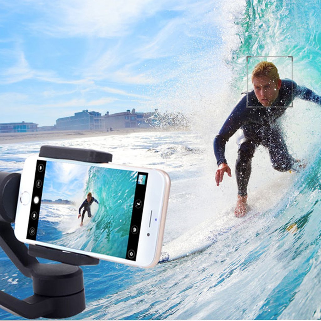 Dovewill Handle Grip Smooth 3-Axis Handheld Gimbal Stabilizer for Android Phone US by Dovewill (Image #3)