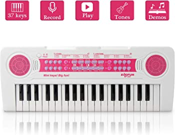 Jinruche 37Keys Multi-Function Electronic Keyboard Kids Piano
