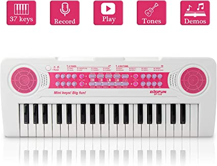 Funny Portable Keyboard Piano Toy Electronic Organ Musical Developmental Toy