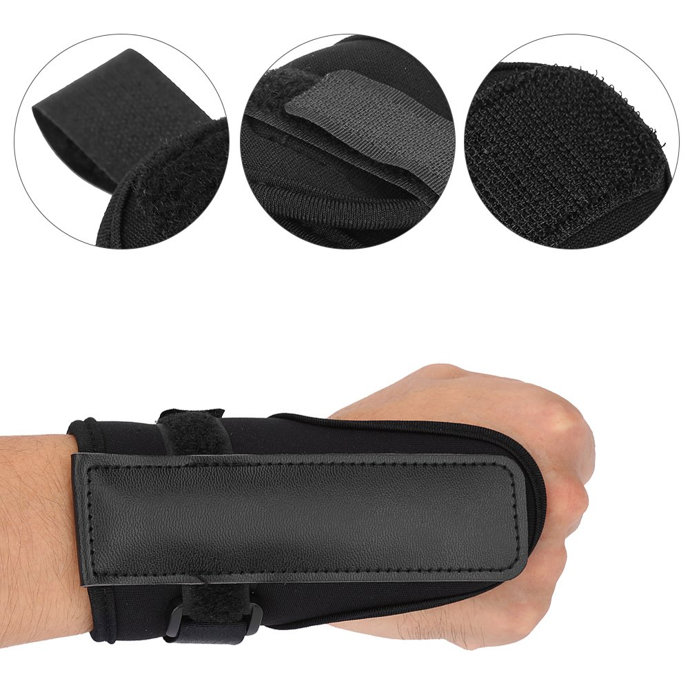 Golf Swing Training Aid Tactic, Golf Wrist Brace Band, Glove Golf Swing Train Aid Set Straight Practice Wrist Brace Trainer Corrector Golfer Accessory by Vbestlife (Image #2)