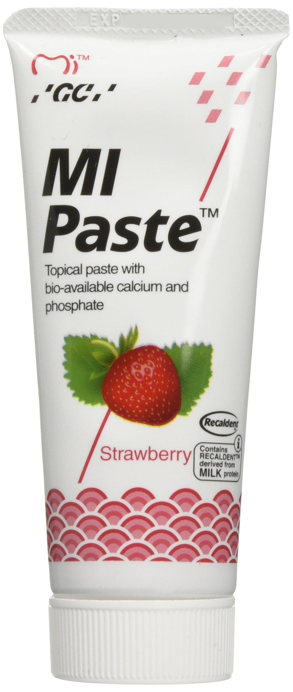 GC America 4505 Mi Paste, Strawberry (Pack of 10)