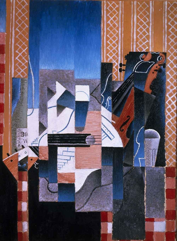 El Museo de salida – Juan Gris – violín y guitarra, Galería de ...