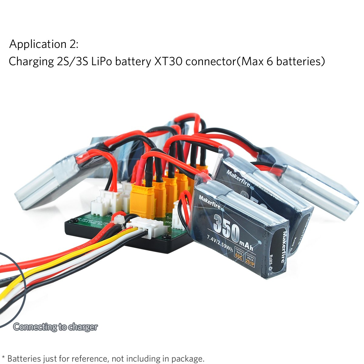 Xt30 Parallel Charging Board For 2s 3s Lipo Batteries Wiring Rc Compatible With Jst Connector Toys Games