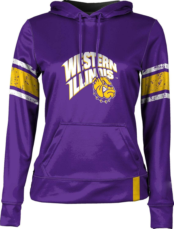 ProSphere Western Illinois University Girls Pullover Hoodie End Zone School Spirit Sweatshirt