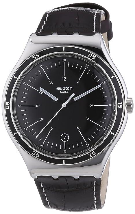 Swatch Irony Big Classic Trueville - Reloj, de color negro: Amazon.es: Relojes