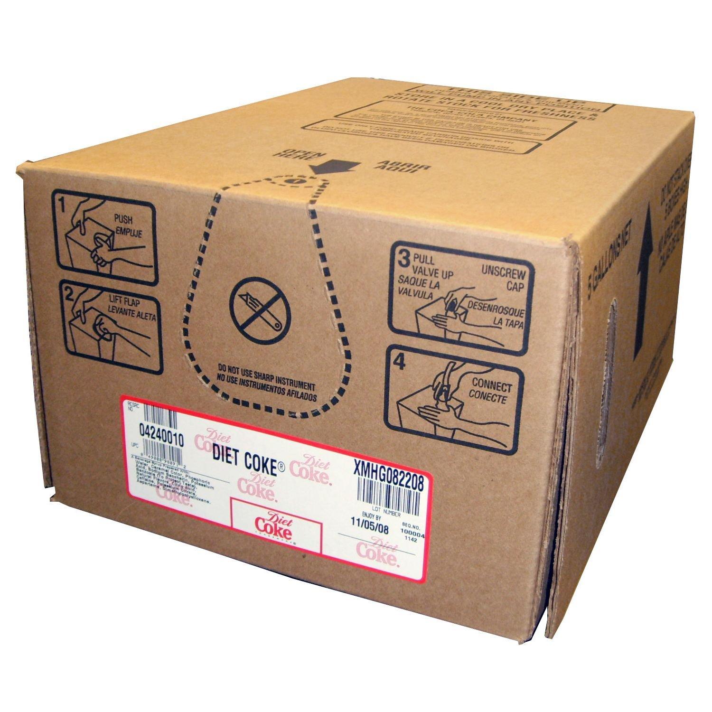 caffeine free diet coke bag in box