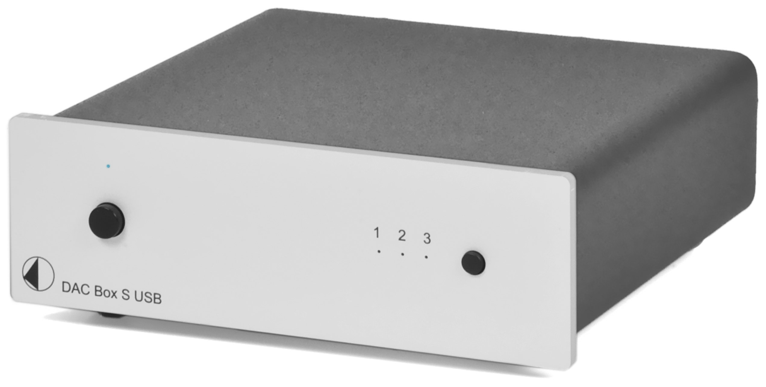 Pro-Ject DAC Box S USB (silver) Digital To Analog Converter, Silver