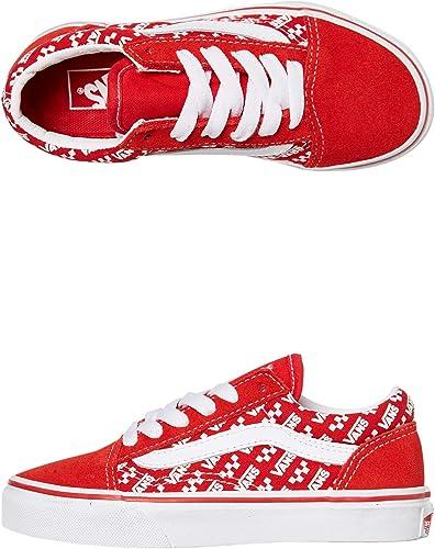 Vans Old Skool Logo Repeat Kids Shoes