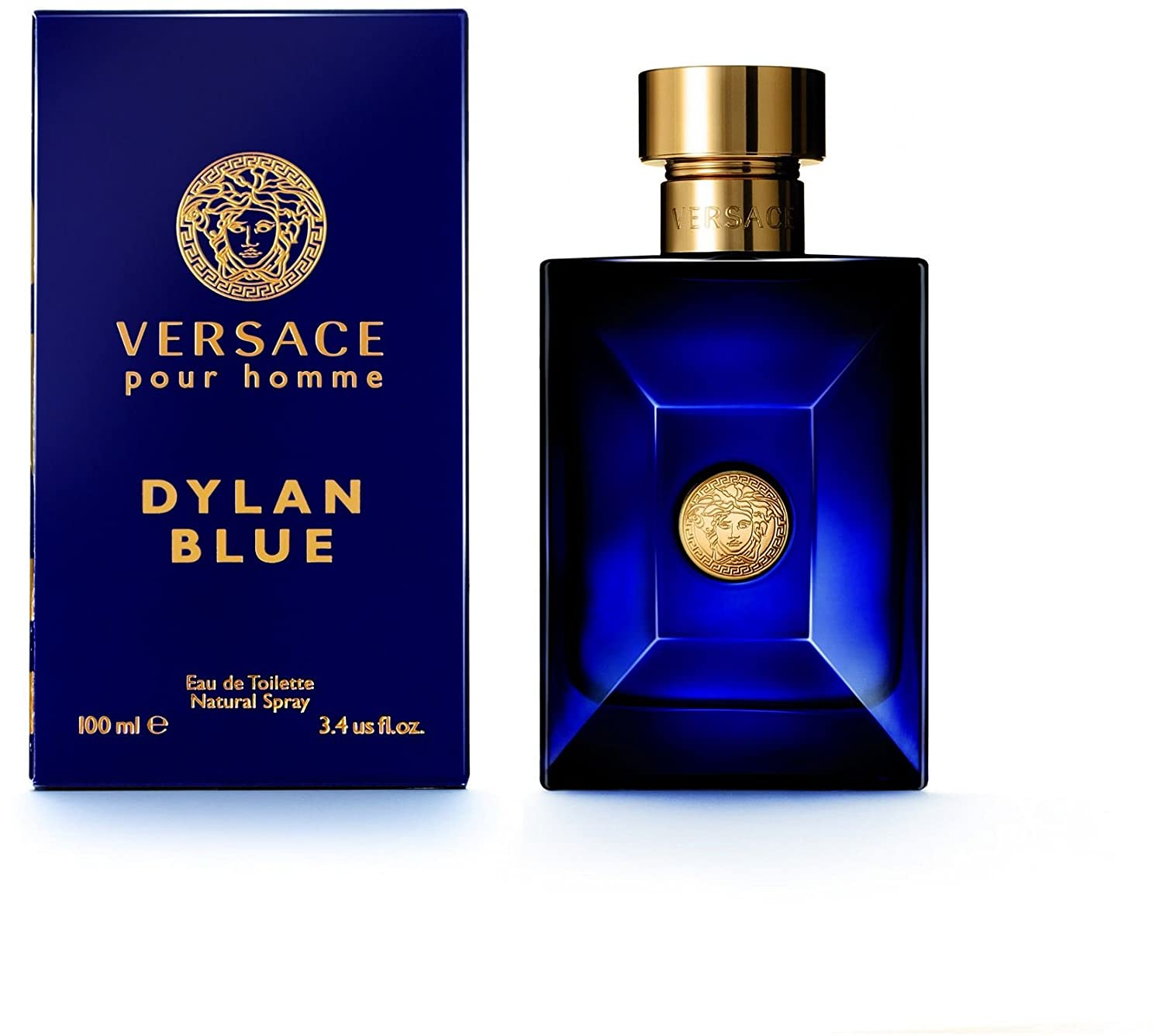 Amazon.com   VERSACE Dylan Blue Pour Homme Eau De Toilette Spray Box  Sealed, 6.7 Ounce   Beauty ca7dcbe5e86