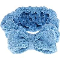 Prettyia Bowknot Makeup Cosmetic Shower Bath Spa Elastic Hair Band Headband