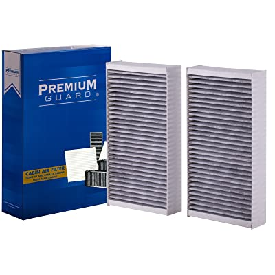 PG Cabin Air Filter PC9376| Fits 2006-12 Mercedes ML350, 2020-18 GLS450, GLE43 AMG, 2007-16 GL450, 2006-13 R350, 2016-19 GLE400, 2007-09 ML320, 2008-16 GL550, 2010-12 GL350, 2006-07 ML500: Automotive