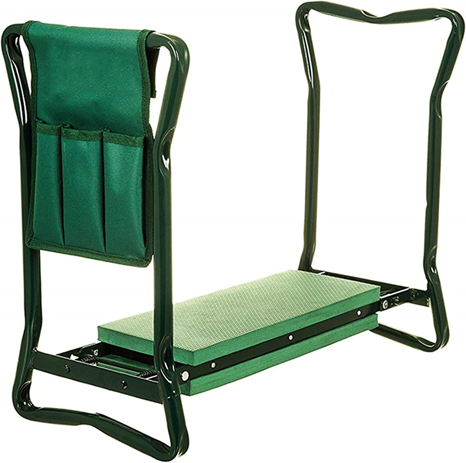 Easy To Carry And Foldaway Humlin Garden Kneeler Portable Folding Seat 2 in 1 With Tool Bag