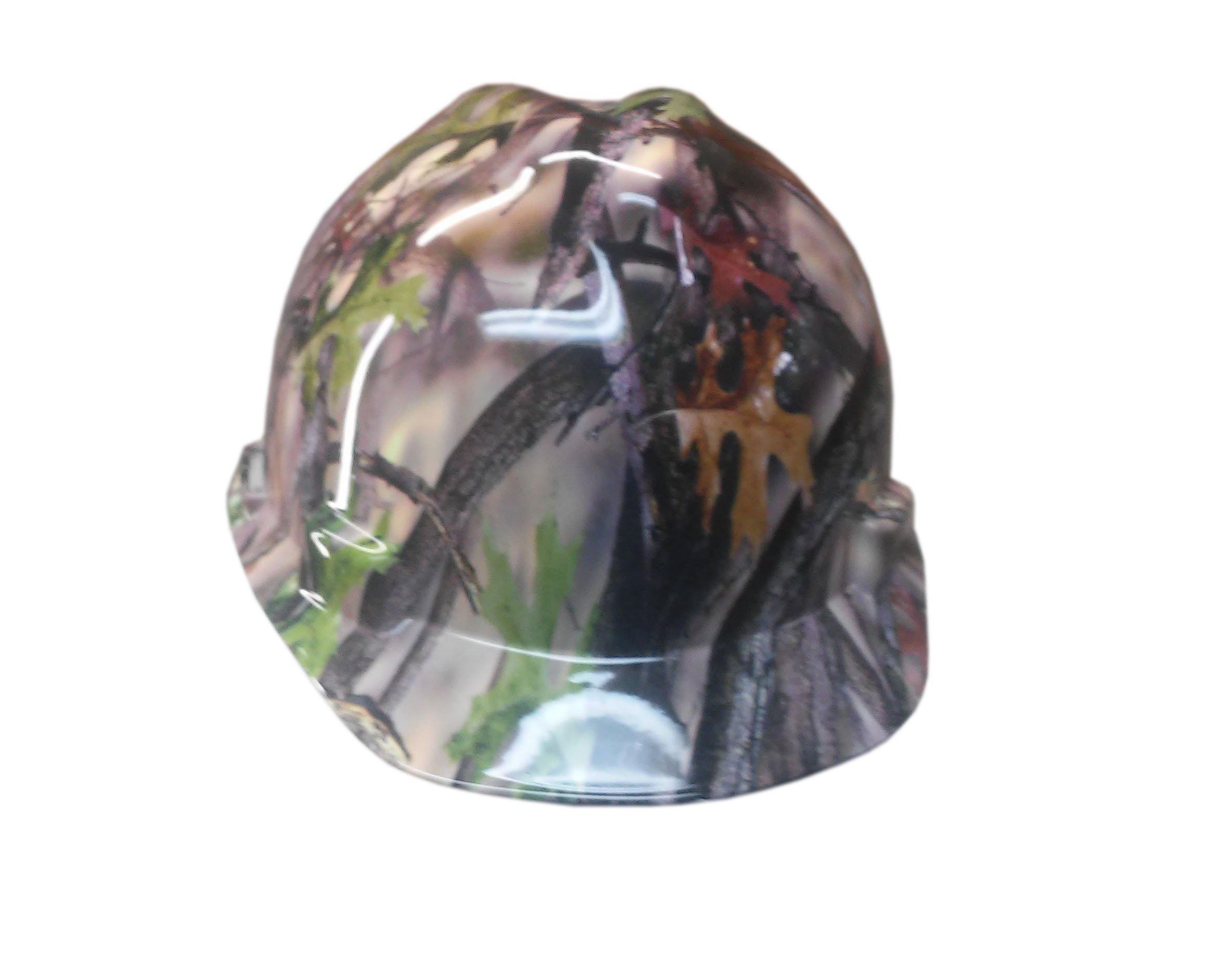 Izzo Graphics Camo MSA V-Guard Cap Hard Hat