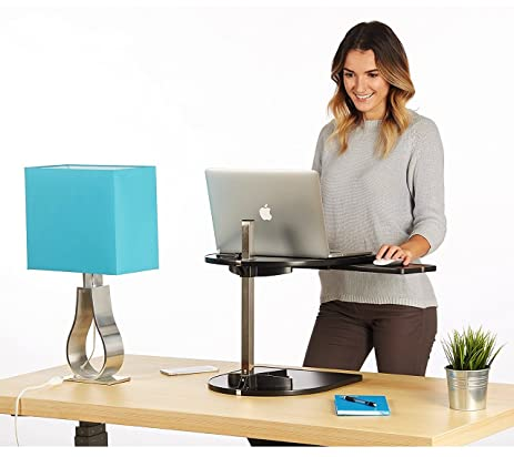 Amazoncom Laptop Stand Adjustable height standing desk
