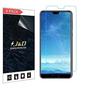 J&D Compatible para 8-Pack Huawei P20 Pro Protector de Pantalla ...