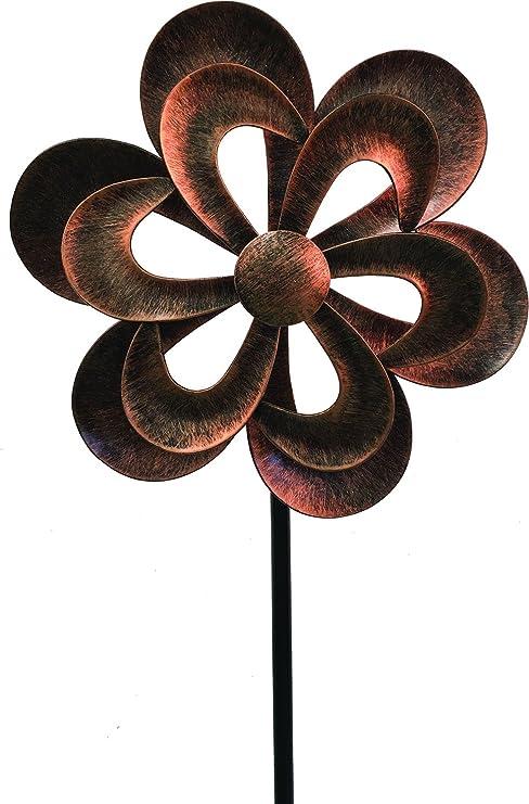 Harbor Gardens 3218421 59 High Dual Butterflies Wind Spinner