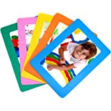 AULife 4x6-Inch Magnetic Picture Frame, Set of 5