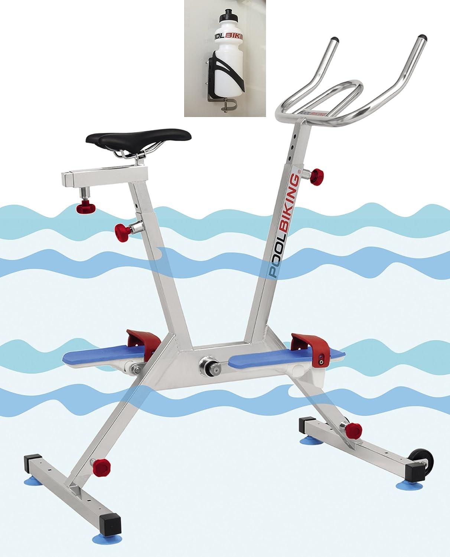 POOLBIKING One Plus + Kit PORTABIDONES,Aquabike, Aquabiking ...