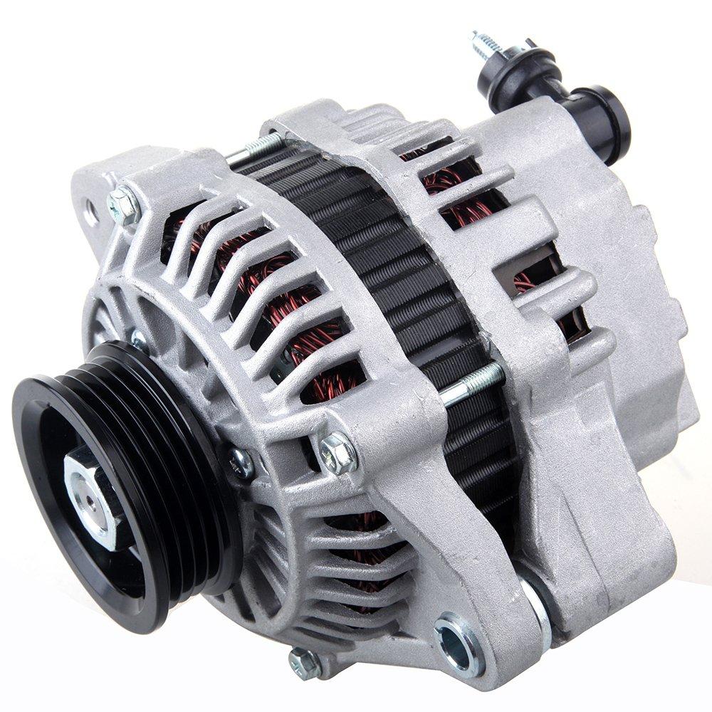 SCITOO Alternators 75A S4 13649 fit Honda Civic 1.6L 1996 1997 1998 1999 2000 IR/IF 31100P2EA02 110636-5206-1636531