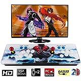Barbella 1500 Classic Pandora 9s Box Arcade Console 1280x720 Full HD Video Game Console with HDMI VGA USB for TV PC…