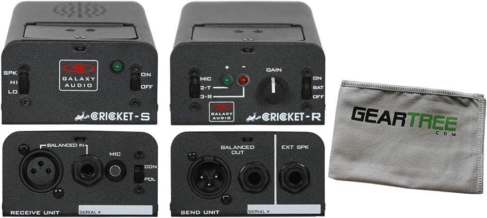 Galaxy Audio Cricket Polarity/Continuity Tester w/Cloth ...