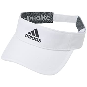 96a6b9c3c9f adidas Unisex s Men s Climalite Visor Cap-White Black