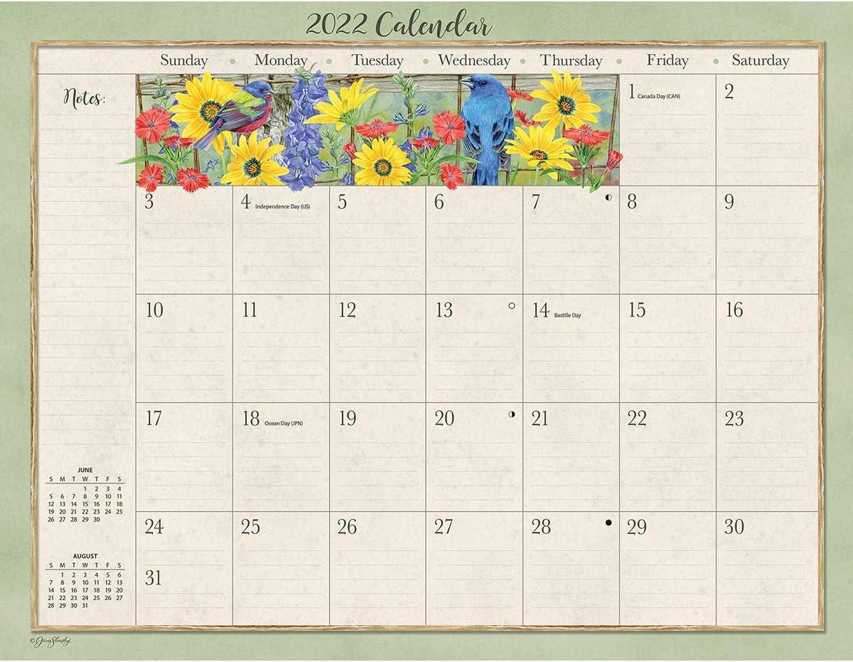 LANG Birds in The Garden 2022 DESKPAD (22991010029)