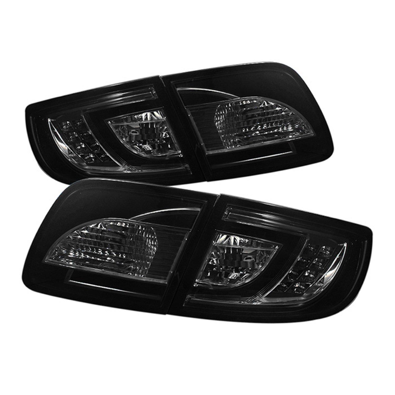 Amazoncom Spyder Auto Mazda 3 Sedan Black LED Tail Light Automotive