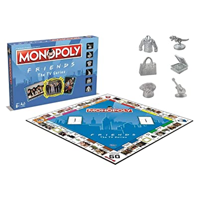 Friends Monopoly: FRIENDS MONOPOLY: Toys & Games