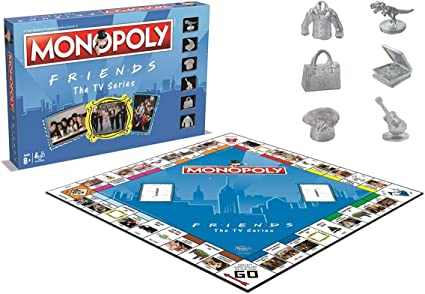 Amazon.com: Friends Edition Monopoly: FRIENDS MONOPOLY: Toys ...