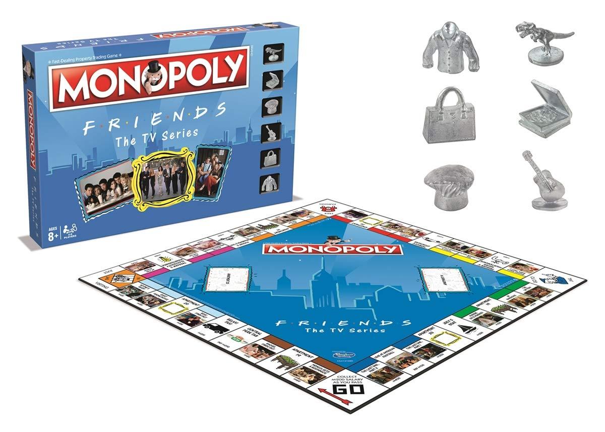 Friends Monopoly Board Game: Amazon.es: Libros en idiomas extranjeros