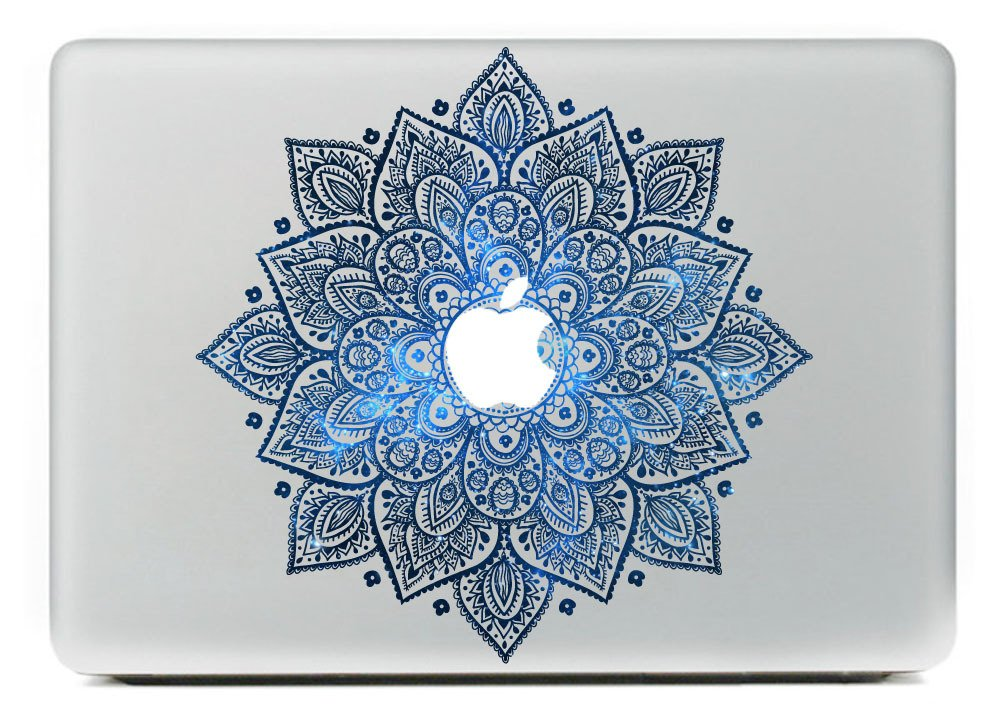 Last Innovation Leaves With Night Sky Removable Vinyl Decal Sticker for Macbook 13""