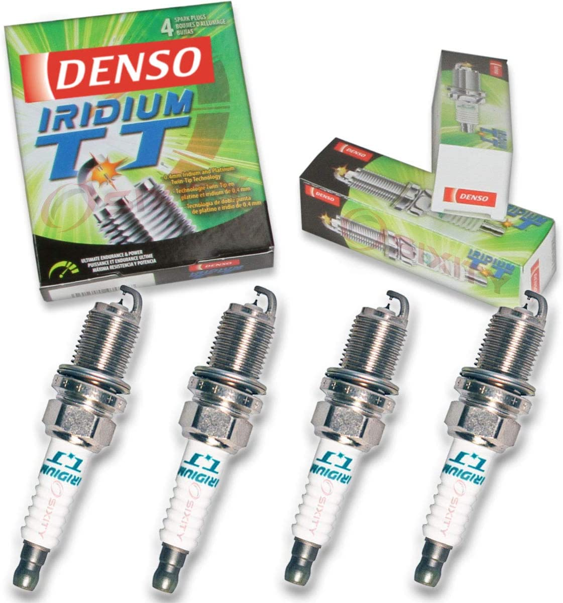 Denso Iridium IKH24 Performance spark plugs x4 Audi VW 1.8 2.0 TFSI TSI EA888