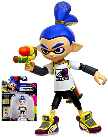 World Of Nintendo Splatoon Inkling Boy Series 2 4 Figure 425quot