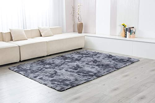 Soft Indoor Modern Shag Area Silky Smooth Fur Rugs Fluffy Rugs Living Room Home Decor Floor Carpet