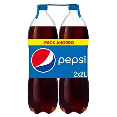 Pepsi - Refresco - 2 x 2 L: Amazon.es: Alimentación y bebidas