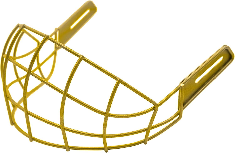 Wargate Lower Face Shield Protector for Ice Hockey Helmet Senior Hockey Helmet Full Face Visor /& Mask Accessory