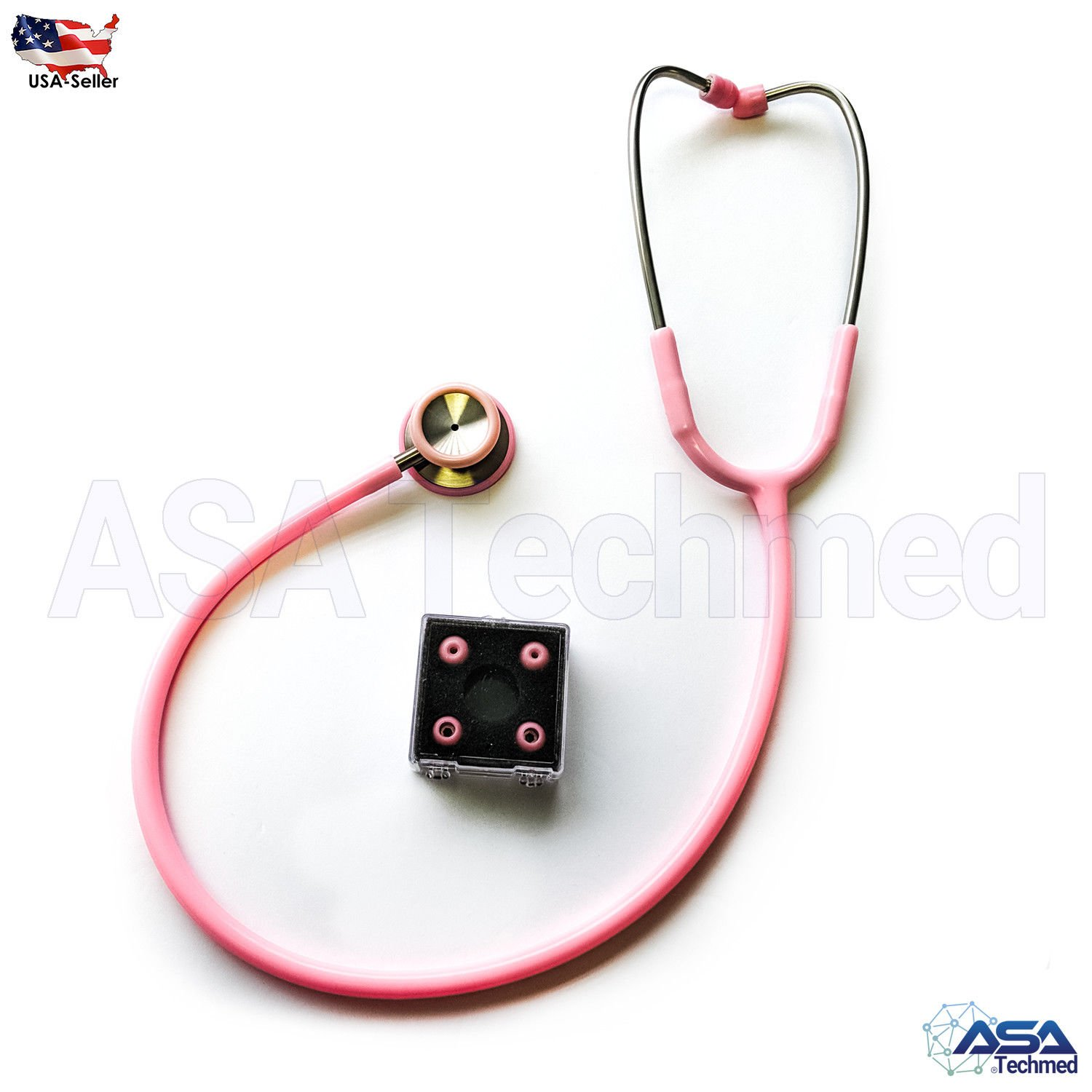 Medical Classic Stethoscope Multiple Colors - Ideal for Nurse, EMT, First Responders, Firefighter, CNA, Medical Assistance and More (Pink)