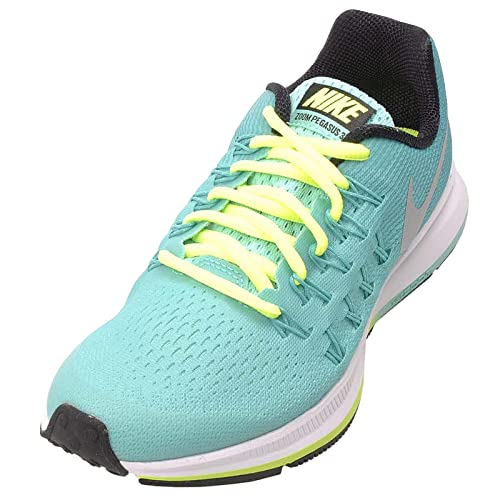 detailed look 64519 84bcd Nike Zoom Pegasus 33 (GS) - Scarpe da Ginnastica da Bambina, Colore Blu