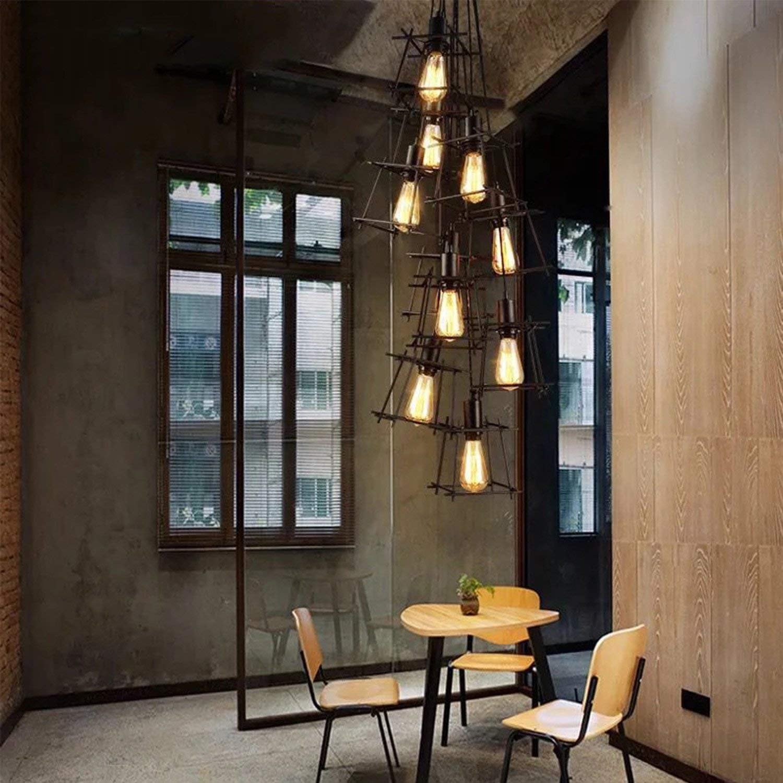 40 W dimmerabili Edison lampada ideale per nostalgia e illuminazione retr/ò in casa Caf/é Bar ecc. 240 V Confezione da 4 lampadine vintage antiche E27 220 V