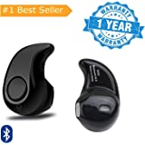 Sketchfab Mini Style Wireless Bluetooth Headphone S530 1pcs in-Ear V4.0 Stealth Earphone Phone Headset Suitable with All Android or iPhone Devices - (Multi Color)