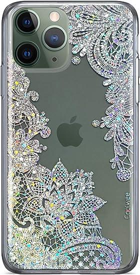 Chic Flower Glitter Hard Case iPhone